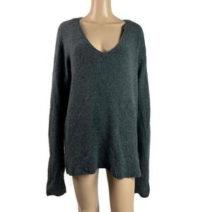Gap Slouchy Sweater Aplaca Wool Blend Medium Tall